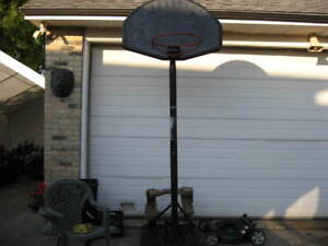 BASKET  BALL  NET  AND STAND