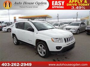 2011 Jeep Compass Limited LEATHER ROOF 4X4