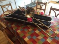 Trombone FOR SALE! Bundy Bb trombone in hard case