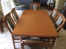 Dining table and 6 chairs Raymond Terrace Port Stephens Area Preview