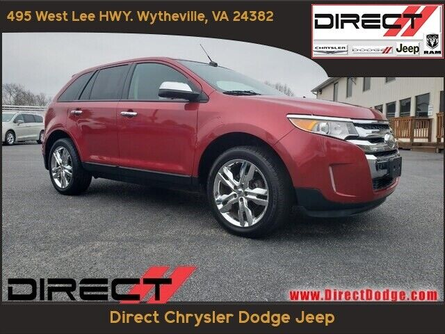 2011 Ford Edge SEL 111889 Miles Red SUV 3.5L V6