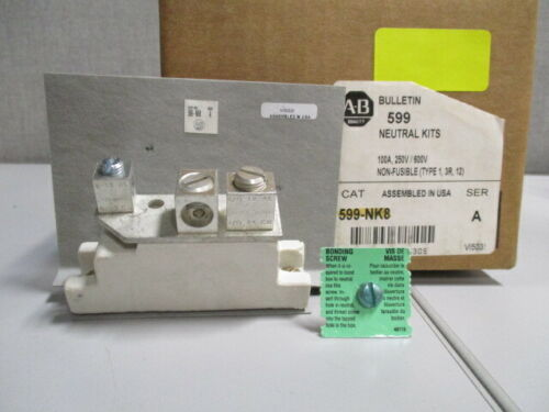 Allen Bradley 599-NK8 Neutral Kit for Safety Switches, Bulletin 599 Series A