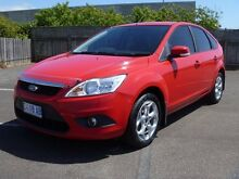 2010 Ford Focus LV LX HATCHBACK 5DR SA 4SP 2.0I Red Semi Auto Hatchback South Burnie Burnie Area Preview