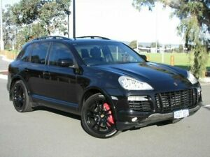 2007 Porsche Cayenne 9PA MY08 Turbo Black 6 Speed Sports Automatic Wagon Maddington Gosnells Area Preview