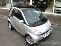 SMART FORTWO 1.0 PASSION 2d AUTO 84 BHP Great Example, £3 (silver) 2008
