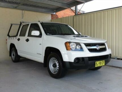 2010 Holden Colorado RC MY10 LX (4x2) White 5 Speed Manual Crewcab Condell Park Bankstown Area Preview