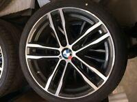 """BMW 19"""" M Double Spoke Wheel Set"""
