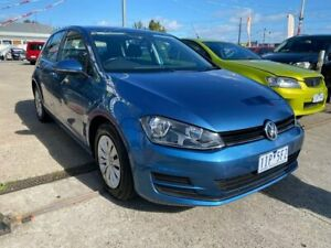 2016 Volkswagen Golf VII MY16 92TSI DSG Blue 7 Speed Sports Automatic Dual Clutch Hatchback Maidstone Maribyrnong Area Preview
