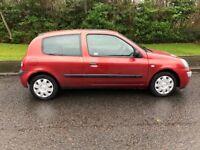 Renault Clio, 1.2, 3 Door, Very Low Miles, Drives Great