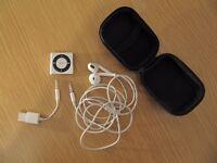 Apple iPod shuffle 4th Generation (Late 2012) Silver (2GB) (Latest Model)