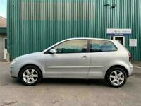 VW POLO 1.2 MATCH FULL MOT JUST SERVICED CHEAP TAX 6 MONTHS WARRANTY INCLUDED