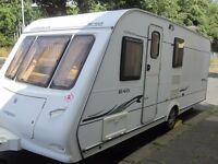 Compass Corona Fixed End Bed Four Berth Touring Caravan