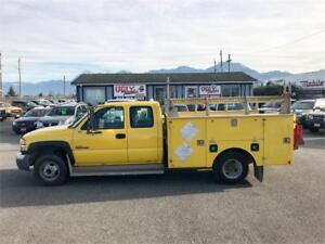 2007 GMC Sierra 3500 CARGO and HYDRO TAILGATE LIFT