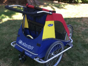 Chariot Bike Trailer for up to 2 kids or your elderly pets