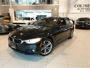 2015 BMW 4 Series 428i xDrive AWD-NAVI-CAMERA-RED LEATHER-ONLY 5