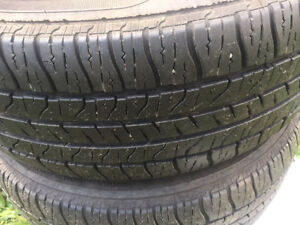 Ford Freestar Aluminium Rims & Goodyear Allegra Touring Tires