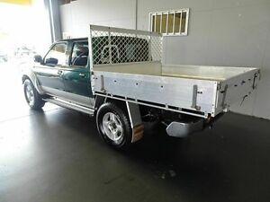 2006 Nissan Navara D22 ST-R (4x4) Green 5 Speed Manual Dual Cab Pick-up Woodridge Logan Area Preview