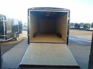 SCREWLESS ENCLOSED AUTO HAULER/CARGO 8 X 20' ATLAS -LOWEST PRICE London Ontario image 4