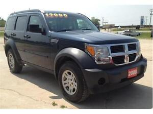 "2008 Dodge Nitro SXT 4x4 ""LOW KMS"""