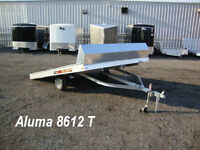 Miska Open Aluminum Snowmobile Trailers