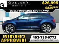 2011 Ford Edge SPORT AWD $229 bi-weekly APPLY NOW DRIVE NOW