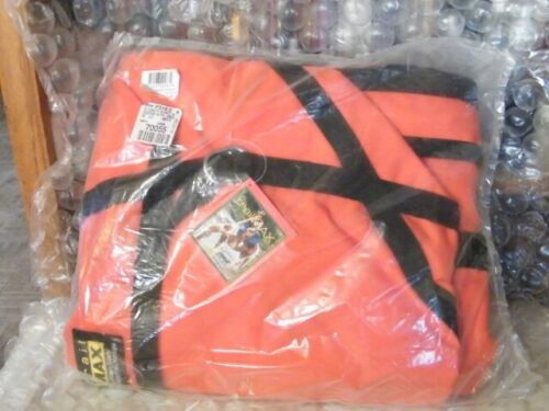 TrailMax Over-The-Saddle Panniers Hunting fits Over Most Western Saddles Orange
