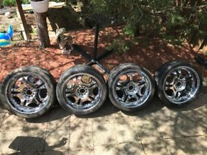 20 inch rims and tires 255/35/20 bolt 5x112