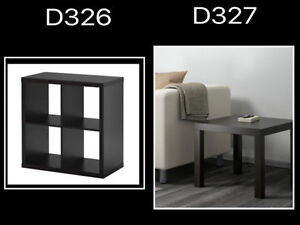 Ikea storage and side table