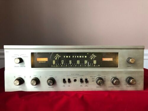 FISHER 500C TUBE FM STEREO RECEIVER - Technician Tested and Cleaned - Works Well