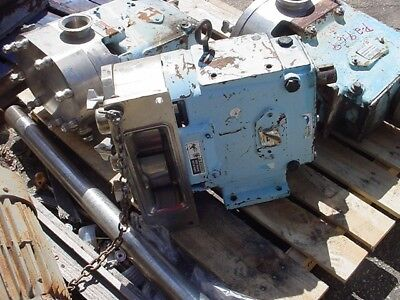 3 Inch Waukesha Stainless Steel Displacement Pump Model 201 U