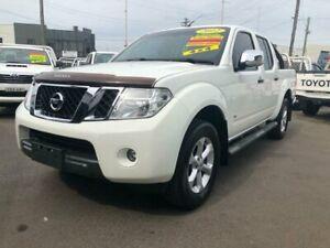 2012 Nissan Navara D40 ST-X 550 (4x4) White 7 Speed Automatic Dual Cab Utility Clyde Parramatta Area Preview
