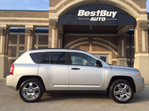 2007 Jeep Compass LTD_4WD_NO ACCIDENTS_WARRANTY INCLUDED