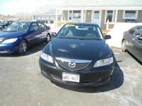 2005 Mazda Mazda6 Grey cloth Sedan