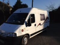 Citroen Relay 2 berth Camper 2.2 HDI - Sink. Gas 2 ring cooker. Fridge. Good condition for age.