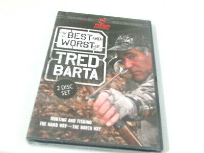 The Best And Worst Of Tred Barta DVD Hunting Fishing 2 DVD Set (The Best And Worst Of Tred Barta)