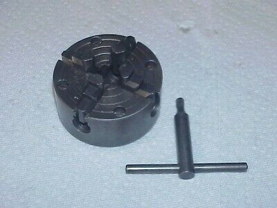 Atlas Craftsman 6 Lathe 109 3 4 Jaw Chuck 12-20 Mount Hole Independent
