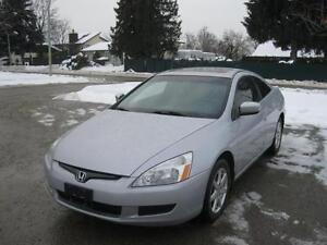 2003 Honda Accord LEATHER-SUNROOF-MINT CONDITION!