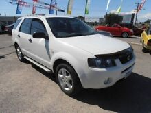 2009 Ford Territory SY SR RWD White 4 Speed Sports Automatic Wagon Wangara Wanneroo Area Preview
