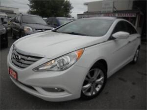 2012 Hyundai Sonata Limited w/Navi 175 KMS Leather $6995