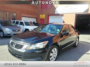 ***2009 HONDA ACCORD***FULL OPTION/TOIT/CUIR/514-812-9994.