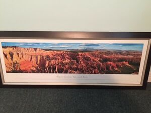 Bryce Canyon Framed Poster Kingston Kingston Area image 2