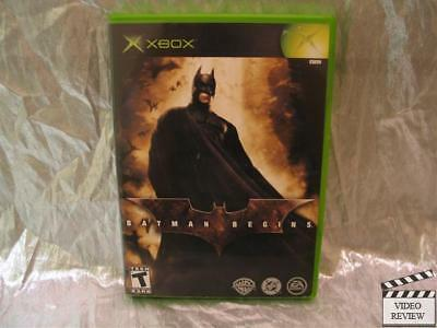 Batman Begins (Microsoft Xbox, 2005) for sale  Shipping to India