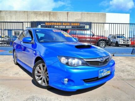 2010 Subaru Impreza G3 MY10 WRX AWD Blue 5 Speed Manual Sedan Woodridge Logan Area Preview