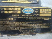 Twin Disc 5061A Marine Gearboxes Fremantle Fremantle Area Preview
