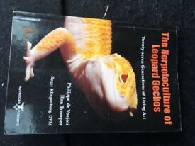 The Herpetoculture of Leopard Geckos, Ron Tremper