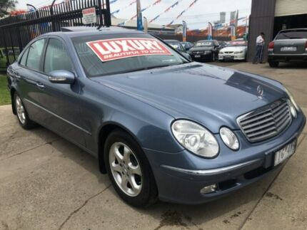 2004 Mercedes-Benz E240 211 Elegance 5 Speed Auto Touchshift Sedan