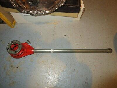 12-r Pipe Threader Ratchet Handle And Ridgid 1-14 Die Head