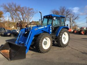 USED NEW HOLLAND 7740 WITH LOADER FOR SALE1