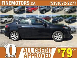 2011 MAZDA MAZDA 3 GS * POWER ROOF * CAR LOANS FOR ALL CREDIT London Ontario image 3