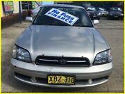 2000 Subaru Liberty B3 MY01 GX AWD Silver 4 Speed Automatic Sedan Kogarah Rockdale Area Preview